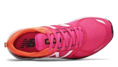 New Balance, 1500v3 in Alpha Pink with Vivid Tangerine, $110