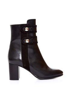Alvy military leather ankle boots   Isabel Marant   MATCHESFASHION.COM UK