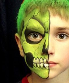 zombie eyes face paint face paint monsters pinterest costumes halloween ideas and make up - Zombie Halloween Faces