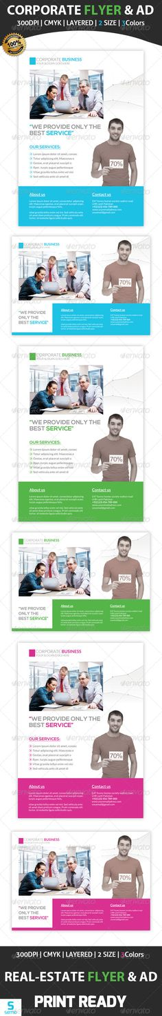 Corporate Flyer & Ad Template