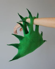 Felted handbag Cactus di DosethHandmade su Etsy