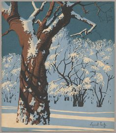 Eyvind Earle winter.