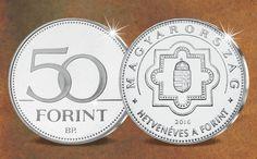 """A """"70 éves forint"""" 50 Ft emlékpénz ajándékba!"""