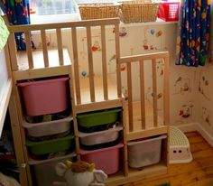Steps for bunk bed