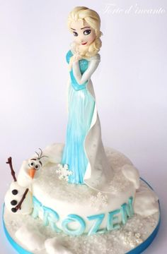 Frozen - Cake by Torte d'incanto