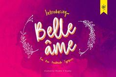 Belle âme - Font Duo