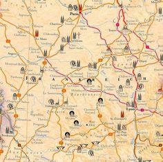 France Centre : voies Compostelle