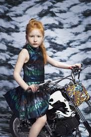 Kenzo A/W 2013. For courageous girls :)