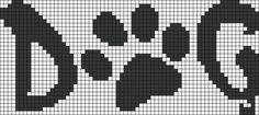 Alpha Friendship Bracelet Pattern #18699 - BraceletBook.com