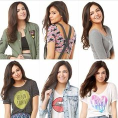 Foto: Some more looks from my spring clothing line! If you visit your local Aero when the line is in stores please send me a pic! #Repost #Bethanymotacollection
