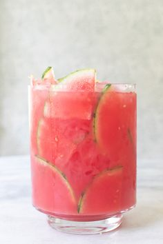 Cocktail Punch, Cocktail Drinks, Fun Drinks, Cocktail Recipes, Alcoholic Drinks, Beverages, Watermelon Punch, Watermelon Tequila, Tequila Punch