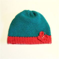 This is a great crochet hat to learn how to crochet ribbing.  Basic Beanie by LadyVintage95 - Crochet Me