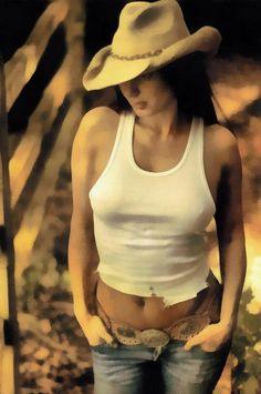 female,woman,cowboy,