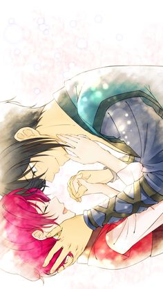 Hak and Yona // Akatsuki no Yona