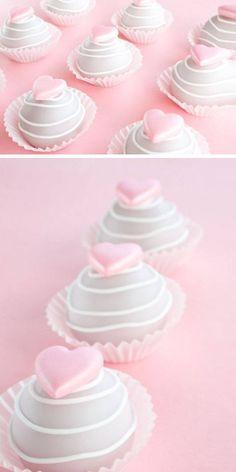 Valentine Cake Bites | Easy Valentines Day Treats to Make