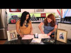 Fabric covered frame    http://www.plaidonline.com/    Hosted by: Cathie Filian & Steve Piacenza with special guest, Norma Rapko.    Designer/author Norma Rapko shares easy tips for making fabulous Mod Podge picture frames.     A little Mod Podge magic transforms ordinary accessories into one-of-a-kind décor! Stay tuned for all three Mod Podge Makeover  segments and bo...