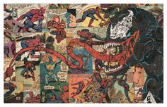 Venom Print 11x17 by ComicCollageArt on Etsy, $20.00