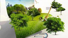 - Modèle 3D Prezi décliné en Template pour un client