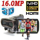 *NEUF* JAPAN FX10 3D FULL HD 1080P 16,0 MÉGAPIXELS CAMÉSCOPE NUMÉRIQUE x