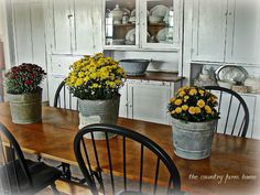 The Country Farm Home: Farmhouse Kitchen