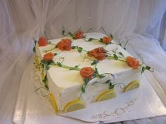 Sandwich Cake, Food Trays, Salty Cake, Catering Food, Food Design, Finger Foods, Food Art, Food And Drink, Cooking Recipes