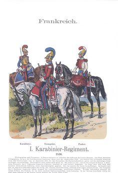 Band XIV #14.- Frankreich. 1. Karabinier-Regiment 1830.
