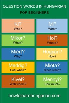 Turists usually ask questions, but how to do that in Hungarian? In fact, it is really easy. Learn to ask basic questions in Hungarian in this free online lesson! English Words, English Lessons, English Grammar, Learn English, French Language Learning, German Language, Online Lessons, Family History, Budapest Hungary