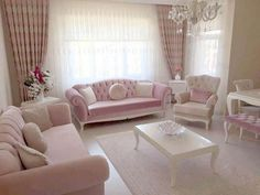 Pastel Living Room Ideas For many people, the palette of pastel shades is too bright, soft and monotonous, often the first choice to organize the living room is a stronger hue that accentuates … Pastel Living Room, Fancy Living Rooms, Living Room Sofa, Home Living Room, Interior Design Living Room, Living Room Designs, Living Room Decor, Interior Livingroom, Piece A Vivre