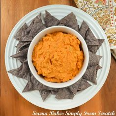 Chipotle Artichoke Hummus. A healthy snack and is easy to make.