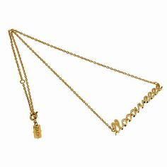 Love Necklace Gold-Plated now featured on Fab.