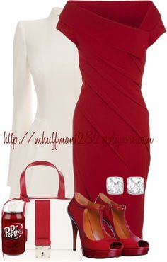 """Dr. Pepper"" by mhuffman1282 on Polyvore"