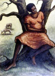 American Literature 1800-Present: Harlem Renaissance Art . Ellis Wilson, Summer Magic