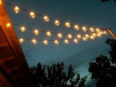 Outdoor String Lighting Ideas Pleasing How To Hang Outdoor Lights Without Walls What An Easy And