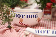 Mesa de Hot Dog (Foto: Karen Hofstetter / divulgação)
