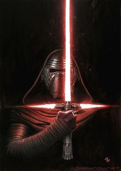 Star Wars Annual 2017 - Kylo Ren by Adi Granov Vader Star Wars, Star Wars Kylo Ren, Star Wars Art, Star Wars Books, Star Wars Characters, Star Wars Episodes, Marvel Dc, Adi Granov, Cuadros Star Wars