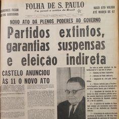 Seguindo os passos da História: A Ditadura Militar Brasileira (1964-1985) foi realmente uma ditadura?