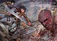 6740x4800px attack on titan free desktop wallpaper by Bryson Brian