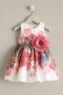 Little Girls Zoe Peony Dress