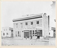 Her Majesty's Theatre on Wellington St. Ottawa, Ontario, Theatre, Canada, Urban, Explore, History, Retro, City