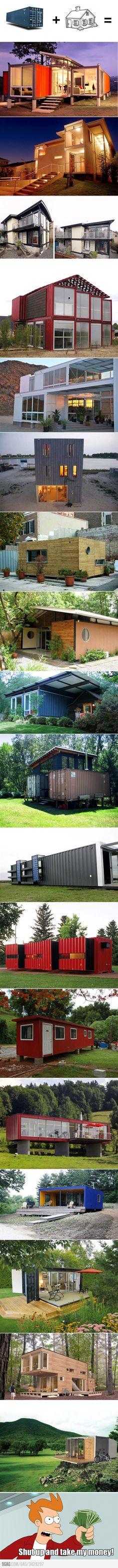 Casas de contenedores: so cool!