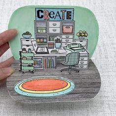 Diy Crafts Hacks, Diy Crafts For Gifts, Diy Crafts Videos, Cool Paper Crafts, Cardboard Crafts, Halloween Crafts For Toddlers, Diy For Kids, Pop Up Cards, Lawn Fawn