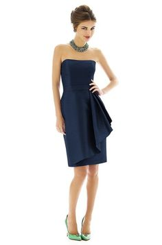 Alfred Sung D592 Bridesmaid Dress | Weddington Way