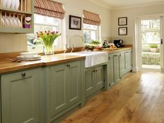 40 Adorable Cottage Style Kitchen Appliances Ideas - HomEnthusiastic : 40 Adorable Cottage Style Kitchen Appliances 49 Light Blue Backsplash Country Cottage Kitchen Accessories Six Gray Polished Iron Dining Chairs 7 Farmhouse Kitchen Cabinets, Kitchen Cabinet Colors, Kitchen Appliances, Cabinet Decor, Cabinet Ideas, Cabinet Makeover, Farmhouse Kitchens, Farmhouse Sinks, Kitchen Sinks