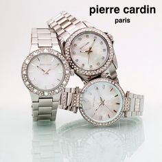 The stylish timepieces that make you stand out from the crowd with perfect balance of deluxe and minimalist. Pierre Cardin, Crowd, Bracelet Watch, Minimalist, Watches, Make It Yourself, Stylish, Bracelets, Accessories