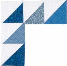 "TLC Home ""Flying Geese Quilt Border Pattern"""