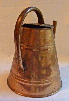 Vintage Turkish Hammered Copper Watering Can by EauPleineVintage, $30.00 Vintage Shops, Vintage Antiques, Vintage Items, Hammered Copper, Antique Copper, Vintage Decor, Unique Vintage, Decorating Your Home, Decorating Ideas