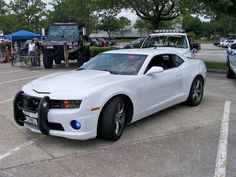 Houston Police Department Ghost Camaro