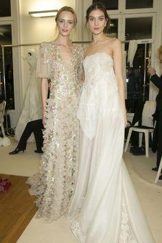 valentino couture backstage