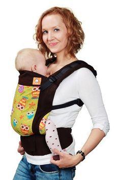 #Marsupio Ergonomico Tula - Cheeky. Permette di portare sul davanti e sulla schiena il bebè dalla nascita fino ai 4 anni circa. Per i neonati va abbinato all'apposito Cuscinetto per Neonati. E' realizzato con tessuto 100% cotone certificato Oeko-Tex Standard 100.