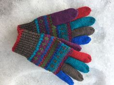 #knitting #hansker #diy #vanter #votter #gloves
